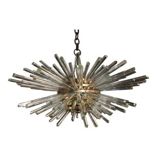 1960's Sputnik Crystal Modern Chandelier by Bakalowits & Sohne For Sale