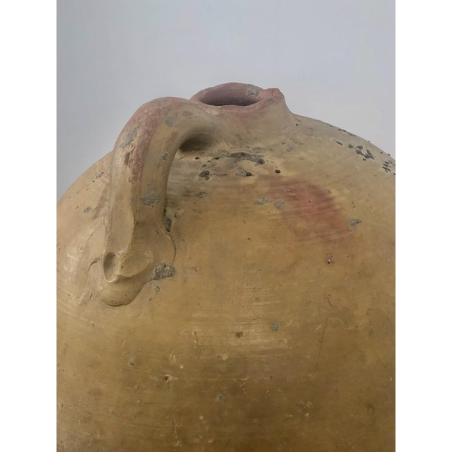 Large One Handled Amphora, Spain For Sale In San Francisco - Image 6 of 8