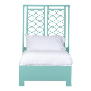 Infinity Bed Twin - Turquoise For Sale