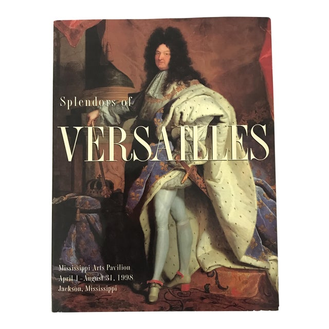 'Splendours of Versailles' Hardcover Book For Sale