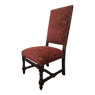 Red Traditional Dining Chairs For Sale