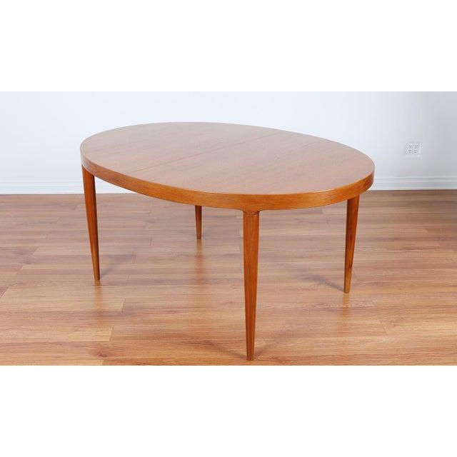 Skovmand & Anderson Danish Mid Century Teak Dining Table - Image 2 of 8