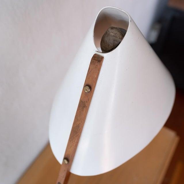 Metal 1950s Hans-Agne Jakobsson Desk Lamp For Sale - Image 7 of 13