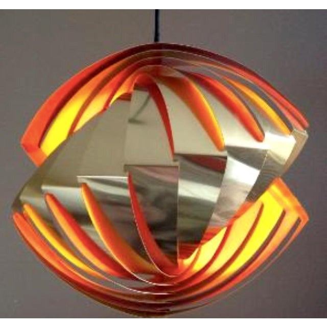 Model Konkyle Ceiling Lamp by Louis Weisedorf - Image 2 of 2