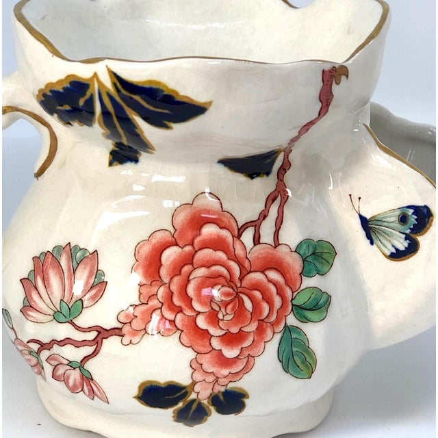 James Kent - England Vintage Chinese Rose Old Foley James Kent Staffordshire For Sale - Image 4 of 12