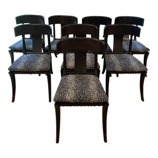 Klismos Dining Chairs - Set of 8 For Sale