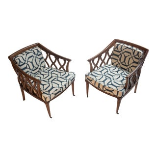 Regency Lounge Chairs For Sale