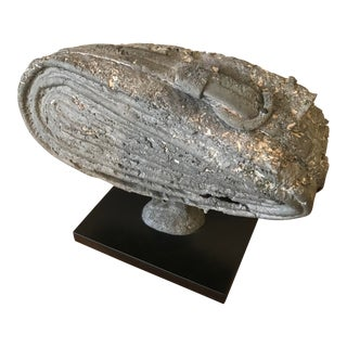 """Bay Area Brutalist Abstract Sculpture by Robert Dhamers of Mills College """"The Belt"""" For Sale"""