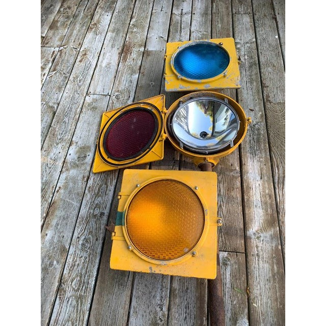 1970s Authentic Econolite Traffic Signal For Sale - Image 5 of 10