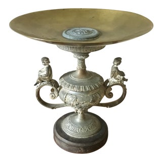 19th Century Grand Tour Brass Tazza For Sale