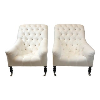 Ralph Lauren Mayfair Chairs - A Pair For Sale