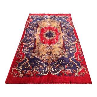 Vintage Anatolian Konya Rug- 5′6″ × 9′8″