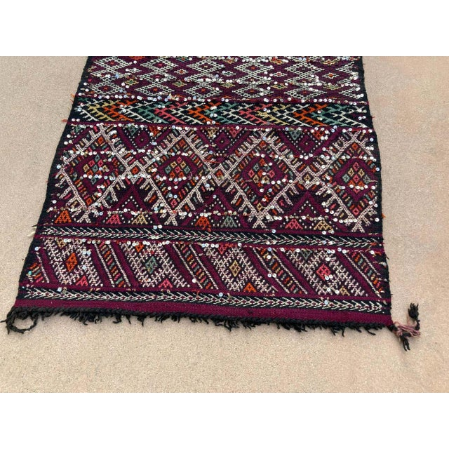 1950s Moroccan African Zemmour Ethnic Textile Rug For Sale - Image 12 of 13