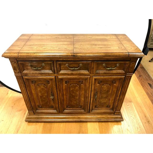 check out 7e7a4 4e5df 1970s Traditional Bernhardt Buffet Bar Cabinet Sideboard Buffet