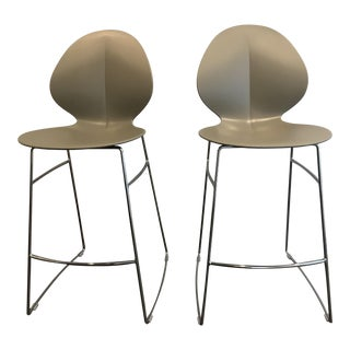 Calligaris Basil Stools - A Pair For Sale