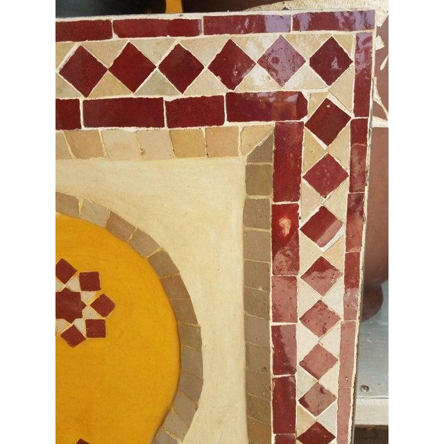 Islamic Moroccan Tri-Color Mini Fountain For Sale - Image 3 of 6