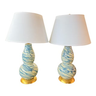 Late 20th Century Safavieh Lamps- a Pair For Sale
