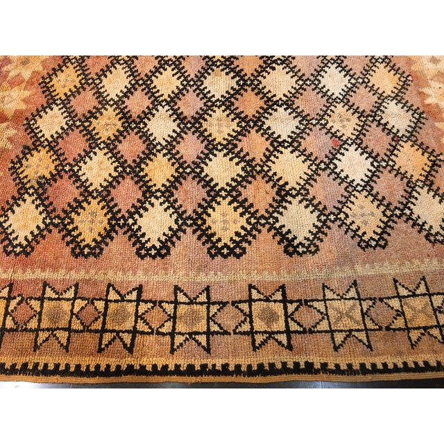 Bellwether Rugs Vintage Moroccan Area Rug - 4′4″ × 10′7″ - Image 4 of 8