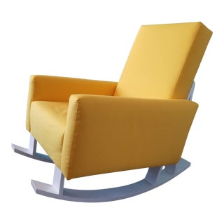 Ducduc Yellow Rocking Chair