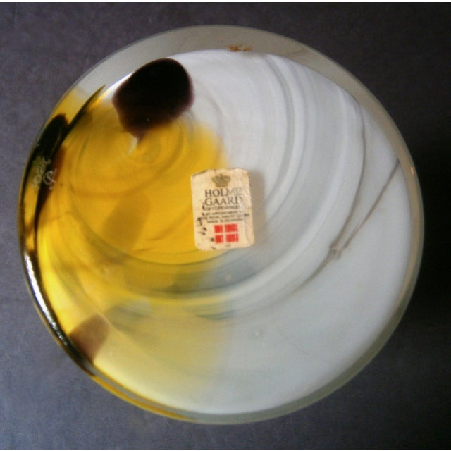 Holmegaard Cascade Cased Glass Vase by Per Lutken - Image 5 of 5