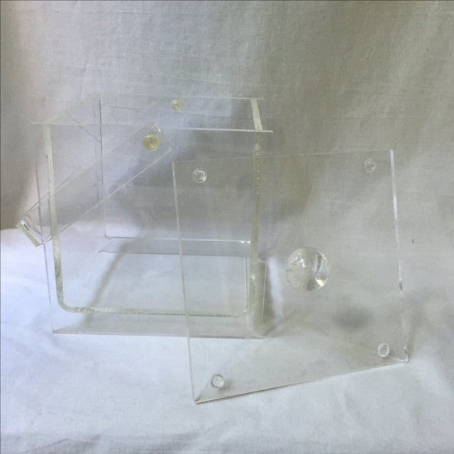 Vintage Lucite Ice Bucket - Image 6 of 6