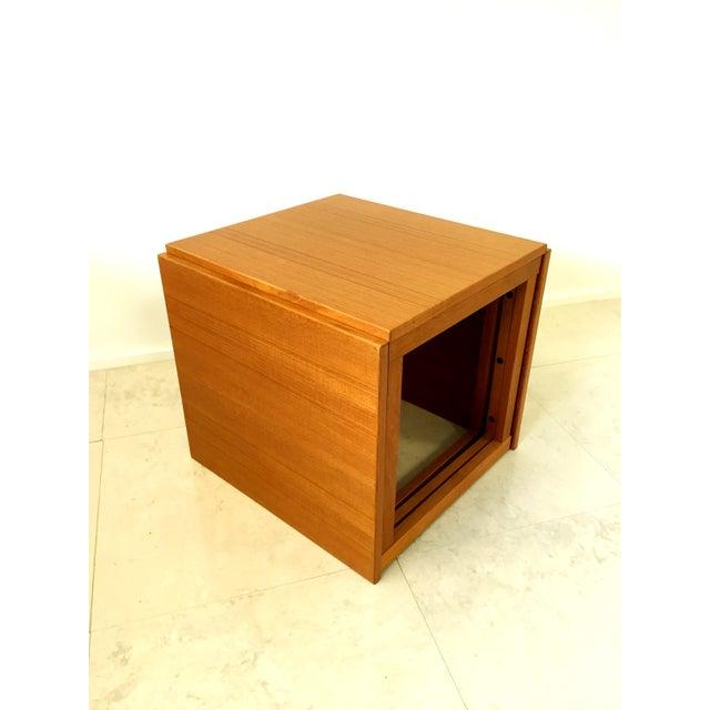 Kai Kristiansen Teak Nesting Tables - Set of 3 For Sale - Image 5 of 9