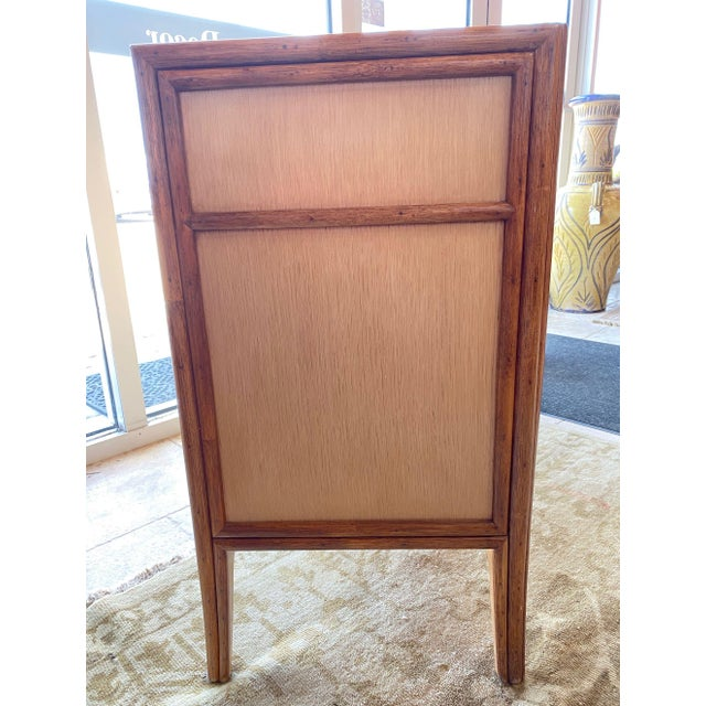Modern McGuire Sideboard/ Cabinet For Sale - Image 3 of 11