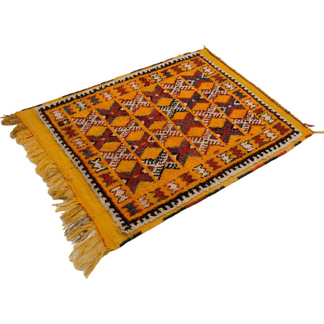 "Textile Vintage Murat Square Rug - 3'6"" X 4'8"" For Sale - Image 7 of 9"