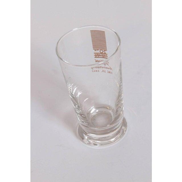 Art Deco 20th Century Limited Glassware, Fiftieth Anniversary 1952, in Box For Sale - Image 5 of 11