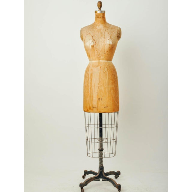 Vintage Bauman Model Dress Form Ladies Mannequin - Image 2 of 8