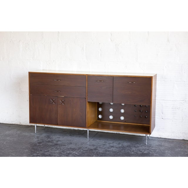1970s Mid-Century Modern George Nelson for Herman Miller Credenza For Sale - Image 12 of 13