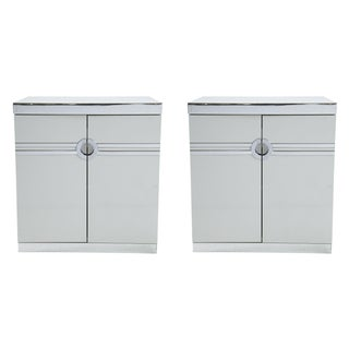 Pierre Cardin for Dillingham Nightstands - Pair For Sale