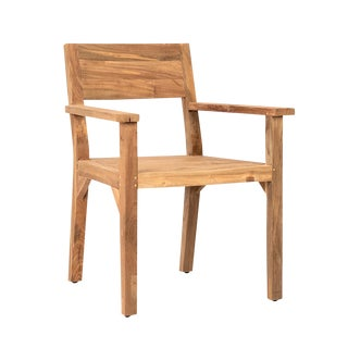 Reclaimed Teak Dining Chair For Sale