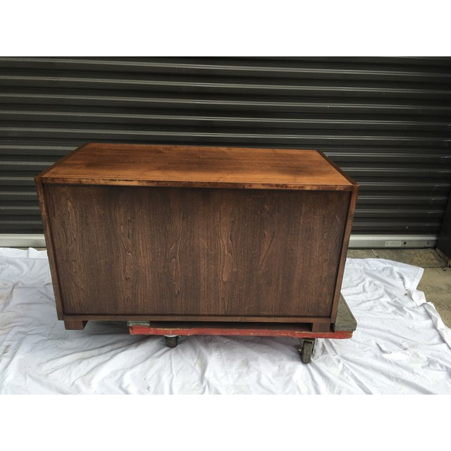 Baker Furniture Low Campaign Chest For Sale In Atlanta - Image 6 of 12
