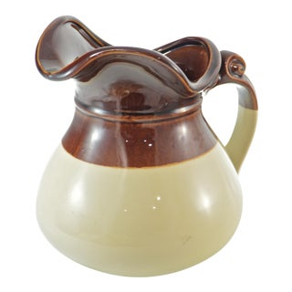 McCoy Two-Tone Farmhouse Jug For Sale