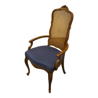 Drexel Heritage Touraine II French Provincial Arm Chair For Sale