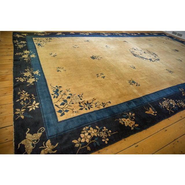 "1920s Vintage Peking Carpet - 9'11"" X 17'4"" For Sale - Image 5 of 13"