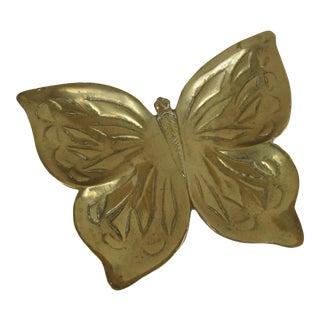 Brass Butterfly Catchall