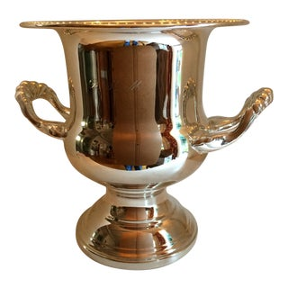 Silver Plated Sheridan Presentation Champagne Ice Bucket For Sale