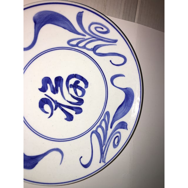 1970s Blue & White Chinese Bowl Decor For Sale - Image 4 of 7