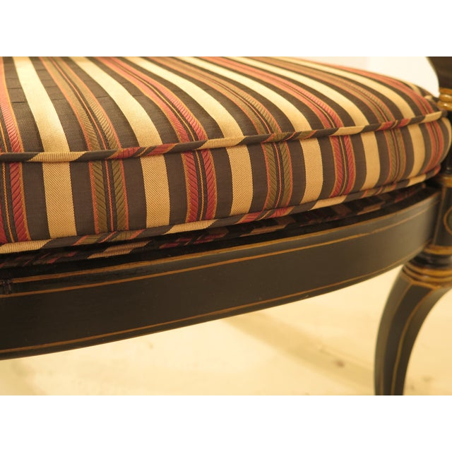 Smith & Watson Regency Decorated Armchairs - A Pair - Image 9 of 11