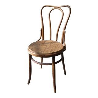 Vintage Mid Century Thonet Style Chair For Sale