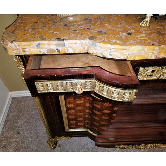 19th Century Louis XVI Commode After Reisener For Sale - Image 9 of 13