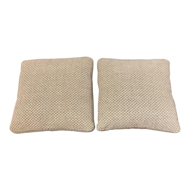 Custom Minotti Toss Pillows - a Pair For Sale