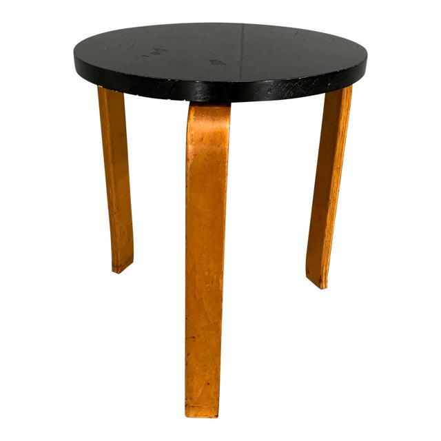 Alvar Aalto Birch Stool for Artek For Sale