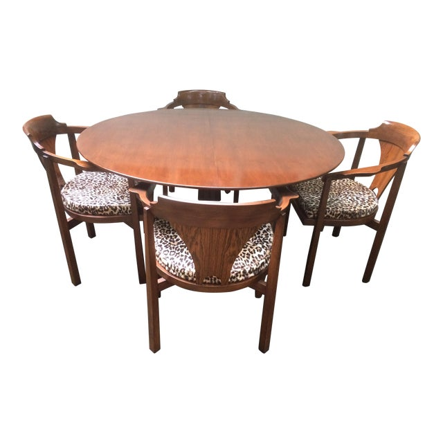 Edward Wormley for Dunbar Rosewood Dining Set For Sale