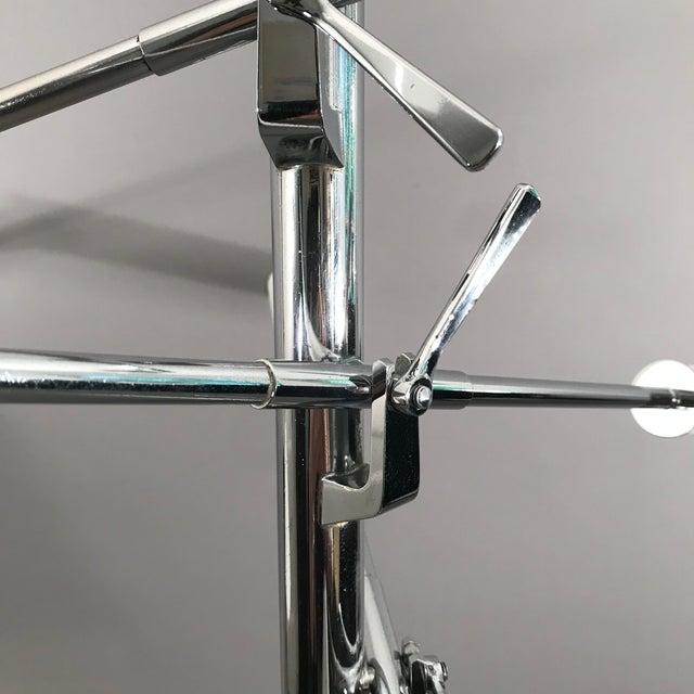 Silver Arredoluce Triennale Lamp For Sale - Image 8 of 10