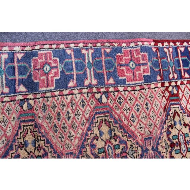 Vintage Turkish Oushak Rug - 3′1″ × 6′5″ For Sale In San Diego - Image 6 of 10