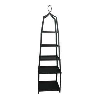 Black Classic Etagere / Plant Stand For Sale