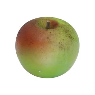 Mid-Century Italian Alabaster Green Apple For Sale